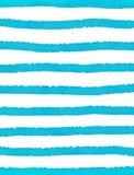Blue stripes on white background stock illustration
