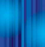 Blue strips background  Stock Image