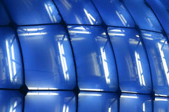 Blue structure background Stock Photography