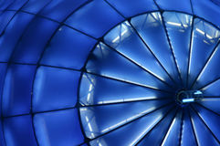 Blue Structure Landscape royalty free stock photo