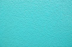 Blue stucco Royalty Free Stock Photography