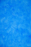 Blue Stucco Wall Royalty Free Stock Image