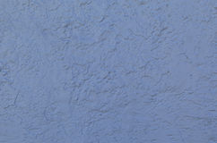 Blue Stucco Wall Stock Photography