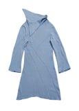 Blue stucken klänning Royaltyfri Foto