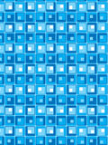 Blue Style Vector Pattern Stock Image