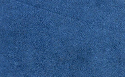 Blue suede Stock Images