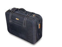 Blue Suitcase Stock Photography