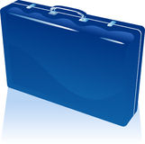 Blue Suitcase Royalty Free Stock Image