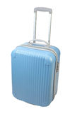The blue suitcase Royalty Free Stock Photo