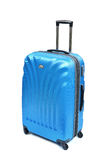 Blue suitcase Royalty Free Stock Images