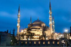 Blue ( Sultan Ahmed ) Mosque, Istanbul, Turkey stock images