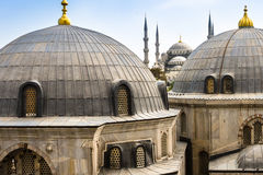 Blue ( Sultan Ahmed ) Mosque, Istanbul, Turkey royalty free stock photos