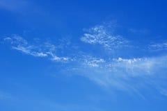 Blue summer sky Royalty Free Stock Photo