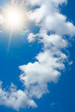 Blue summer sky Royalty Free Stock Images