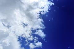 Blue summer sky. Stock Photos