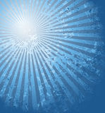 Blue summer sun Royalty Free Stock Photo