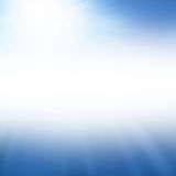 Blue summer sun Royalty Free Stock Image