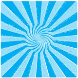 Blue sun. Abstract illustration like blue sun stock illustration