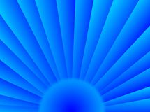 Blue sun Royalty Free Stock Images
