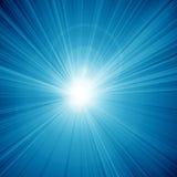 Blue sun Stock Photography