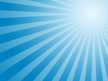 Blue sun background Stock Images