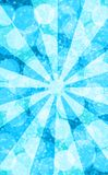 Blue sun bokeh. Abstract background winter blue sun Royalty Free Stock Image