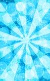 Blue sun bokeh. Abstract background winter blue sun stock illustration