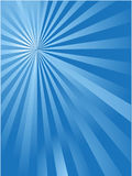 Blue sun ray background. The blue sun ray background for web design Stock Photos