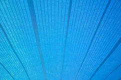 Blue sun shading net Stock Photo
