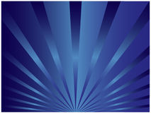 Blue sunburst Royalty Free Stock Photos