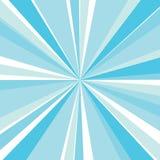 Blue sunburst. Vector abstract background with blue sunburst Royalty Free Stock Image
