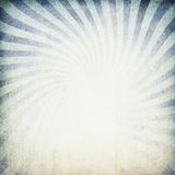 Blue sunburst image. Royalty Free Stock Images