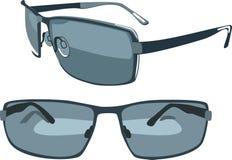 Blue sunglasses Royalty Free Stock Photo