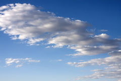 Blue Sunny Skies Clouds Royalty Free Stock Photos