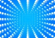 Blue Sunshine background Royalty Free Stock Image
