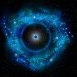 Blue Supernova Royalty Free Stock Photography
