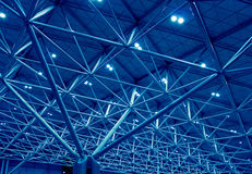 Free Blue Support Structure Royalty Free Stock Photos - 21673328
