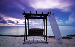 Blue Surf Royalty Free Stock Images