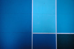 Blue surface. Archtectural detail royalty free stock images