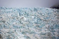 Blue surface of glacier Stock Images