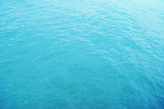 Blue surface of sea Stock Photo