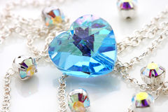 Blue Swarovski Royalty Free Stock Image