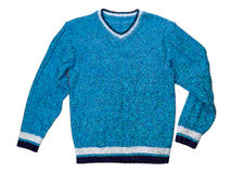 Blue sweater nobody Royalty Free Stock Photography