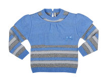Blue sweatshirt Royalty Free Stock Photos
