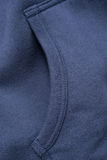 Blue Sweatshirt Pocket Royalty Free Stock Photography