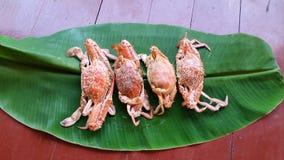 Blue swiming crabs Stock Photo