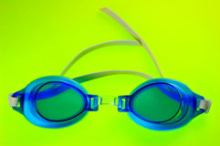 Blue Swimming Goggles Stock Photography