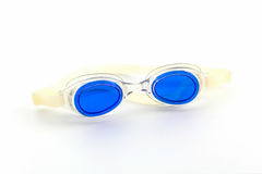 Blue swimming goggles glasses. Stock Photography