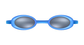 Blue swimming goggles Royalty Free Stock Image