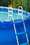 Blue Swimming Pool Royalty Free Stock Photos